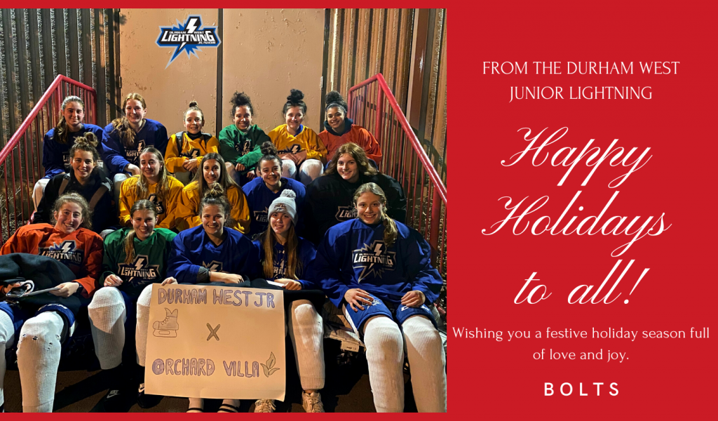 Junior Lightning Give Back to the Community