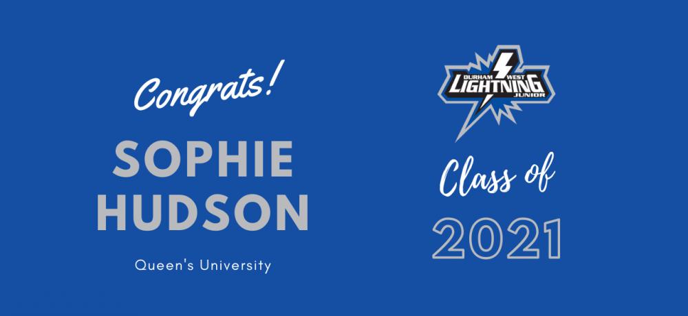 Graduating Senior #94 Sophie Hudson