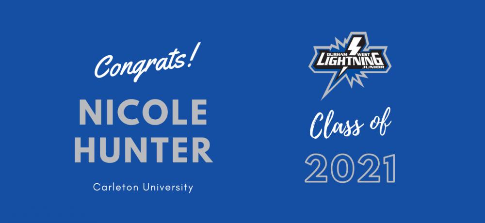 Graduating Senior #44 Nicole Hunter