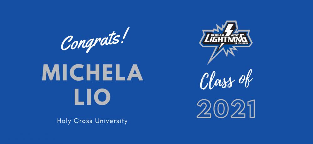 Graduating Senior #71 Michela Lio