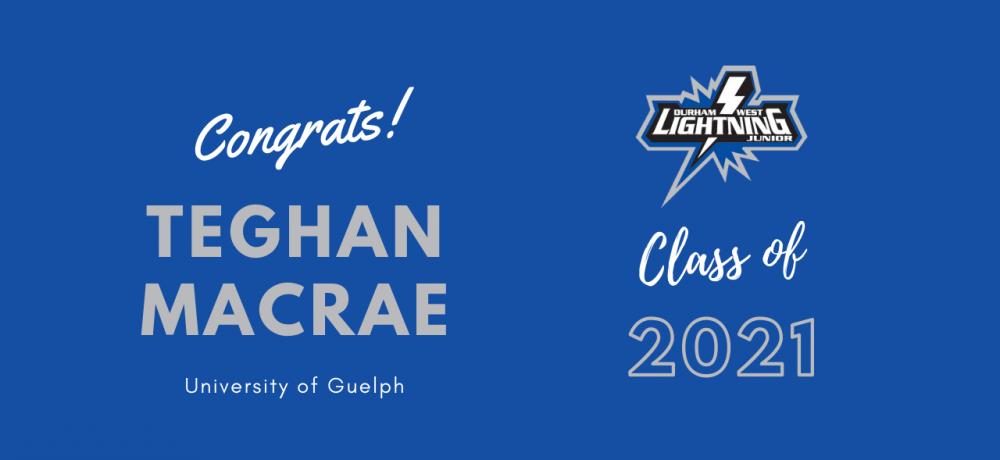 Graduating Senior #5 Teghan Macrae