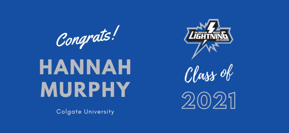 Graduating Senior #83 Hannah Murphy