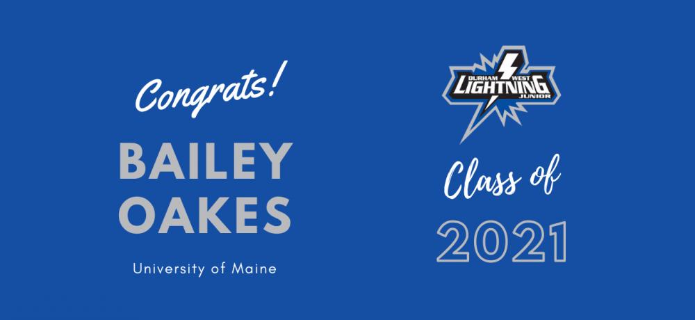Graduating Senior #77 Bailey Oakes
