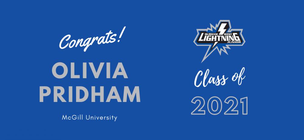 #16 Olivia Pridham Graduation Video Tribute