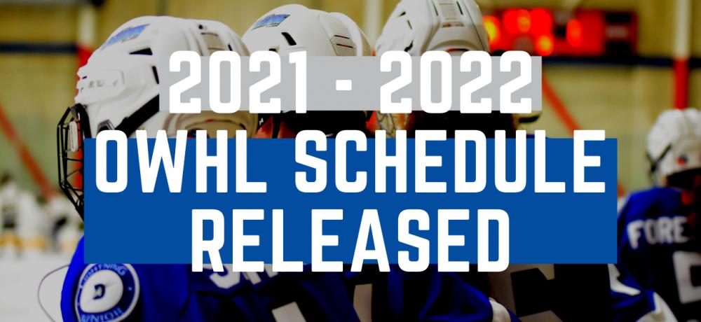 2021-22 OWHL U22AA Elite League